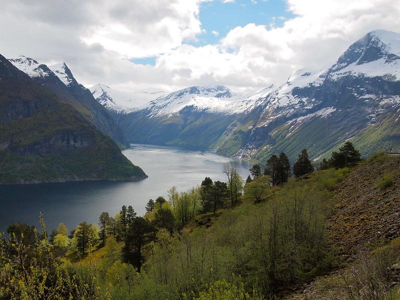 Above Geirangerfjord