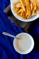 Mayo, Lemon, Garlic and Parmesan Dip / Dressing