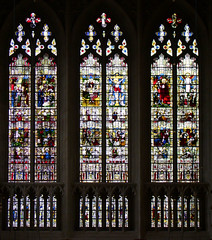 south transept glass
