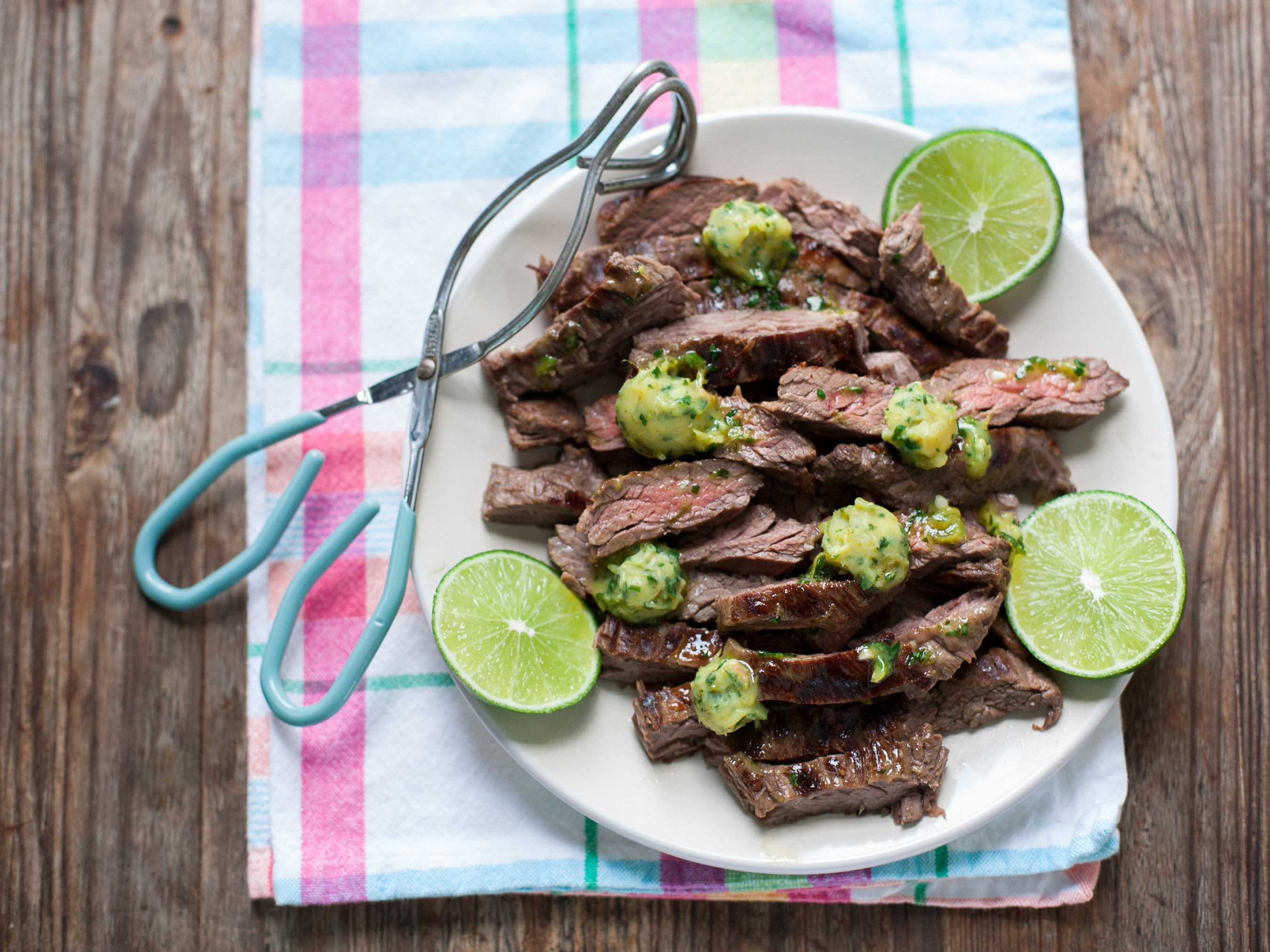 Announcing Paleo Planet + Marinated Skirt Steak with Cilantro-Lime Ghee | acalculatedwhisk.com