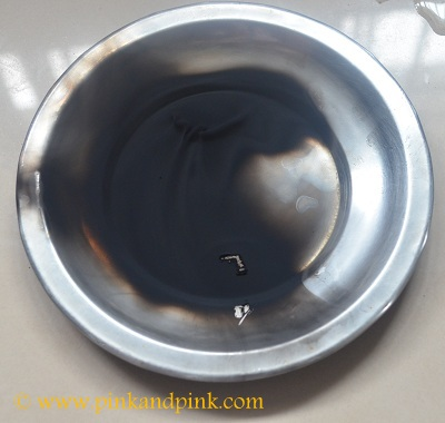 Homemade kajal soot - How to make kajal at home