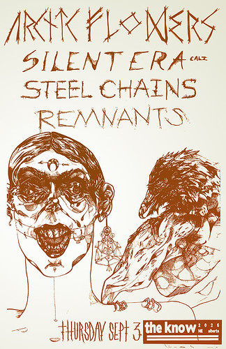 9/3/15 ArcticFlowers/SilentEra/SteelChains/Remnants
