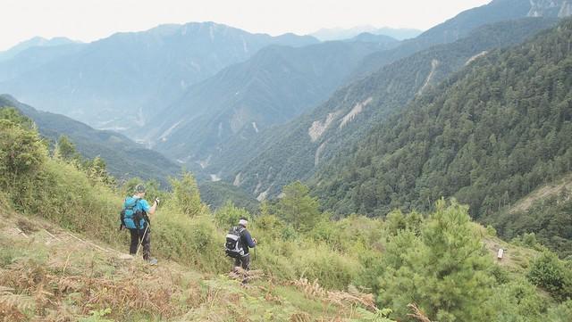 3000公尺的台灣高山美景