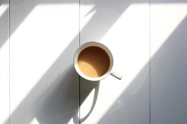 Kaffee mit Freunden wird 3