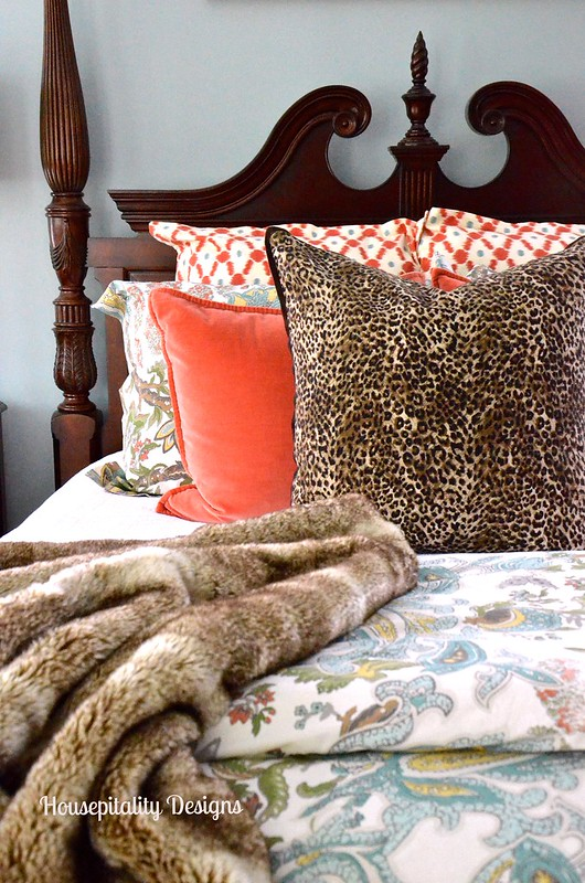 Fall Master Bedroom 2015 - Housepitality Designs