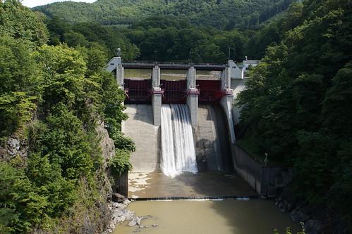 岩知志ダム(北海道)
