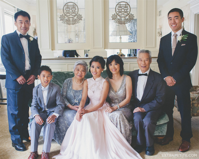 chinese wedding tea ceremony family