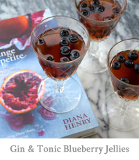 Gin & Tonic Blueberry Jellies