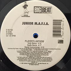 JUNIOR MAFIA:PLAYER'S ANTHEM(LABEL SIDE-B)