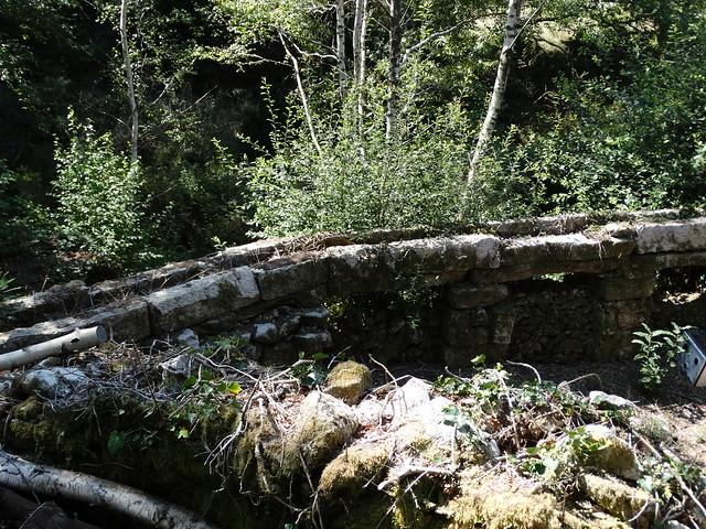 Canal en un molino de Cavadosa