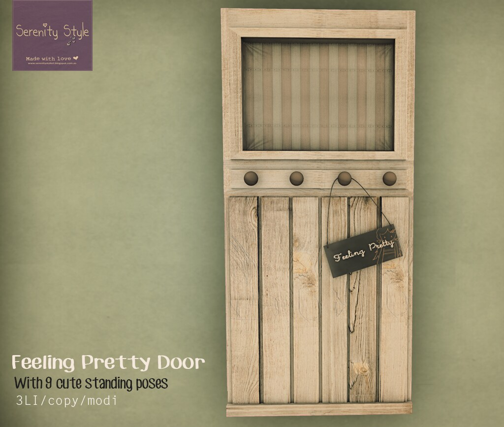 Serenity Style- Feeling Pretty Door
