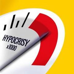 Hypocrisy Gauge