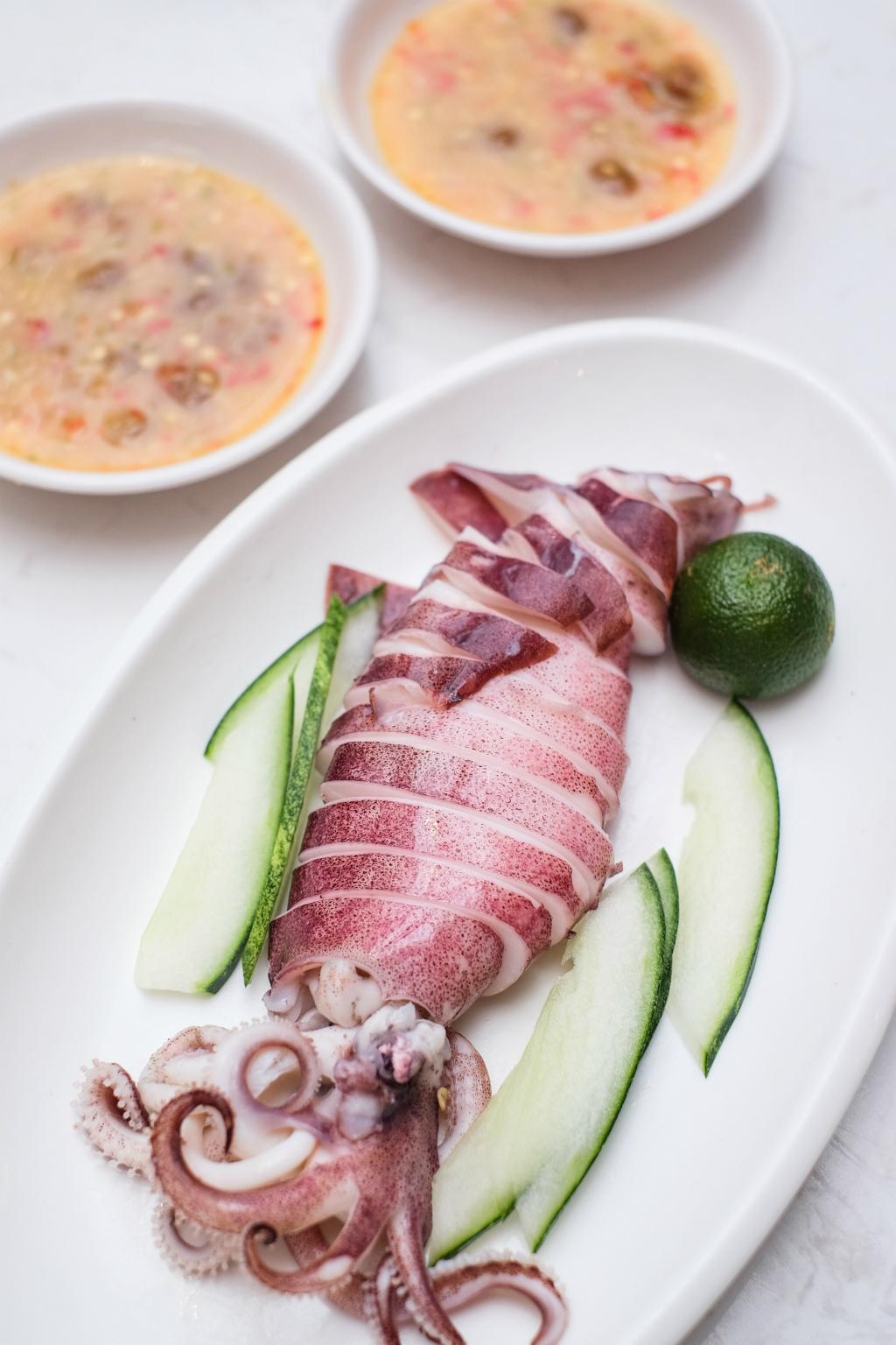 ChaoZhou Porridge: Big Sotong