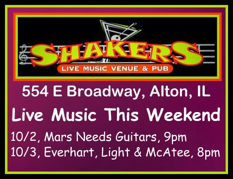 Shakers 10-2, 10-3-15