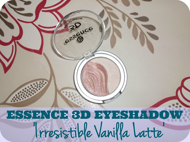 Essence 3D Eyeshadow Irresistible Vanilla Latte Review