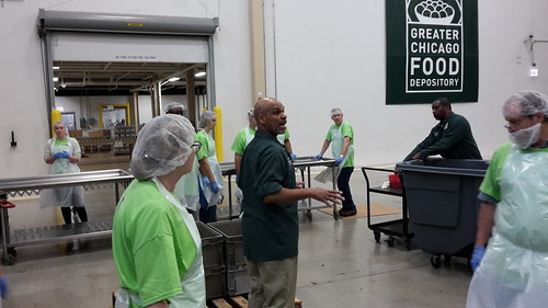Greater Chicago Food Depository Volunteer Event