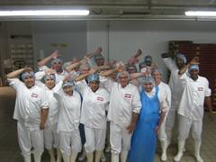 Equipe de l'ALC - Usine de Volailles de Saint Fulgent