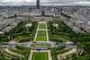 View of Champ de Mars and École Militaire - Paris by Phil Marion