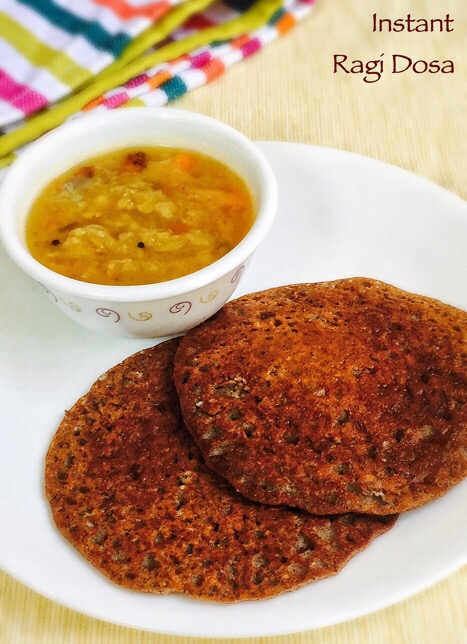 Instant Ragi Dosa Recipe For Babies Toddlers Amp Kids Baby