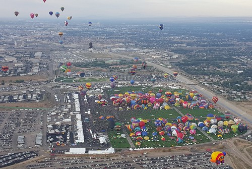 Balloon Fiesta grounds