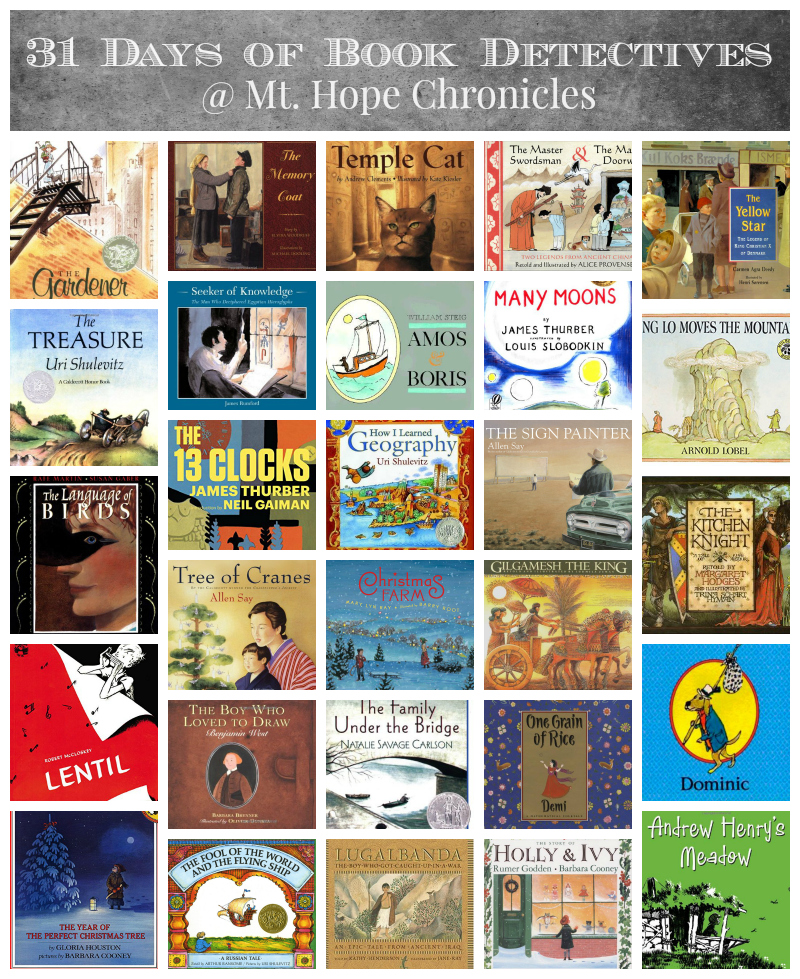 31 Days of Book Detectives ~ Conclusion @ Mt. Hope Chronicles