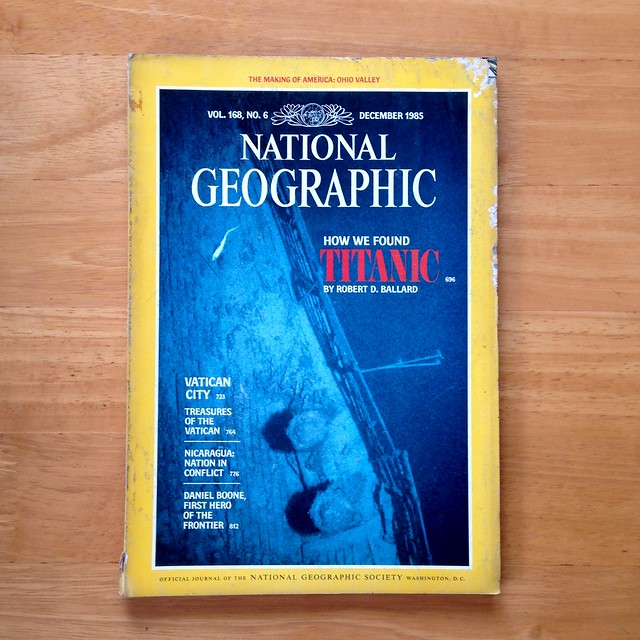 National Geographic magazine, December 1985
