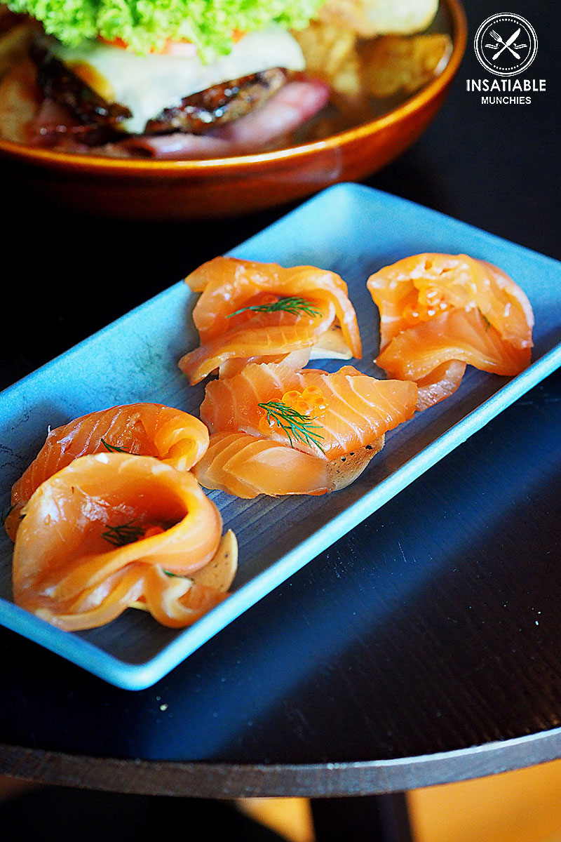Whisky Cured Salmon, $14:Grain Bar, Sydney, Sydney Food Blog Review