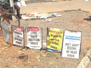 Local news headlines in Bulawayo