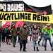 600 gegen Neonaziaufmarsch am Wiener Deserteursdenkmal