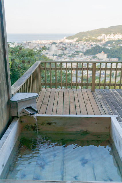 南山荘 紫乃、末摘花の間(すえつむはなのま)、部屋付き露天風呂