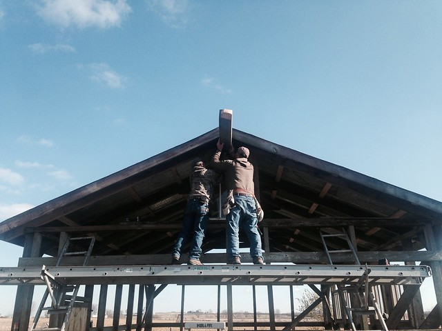 Lately // Barn Raising