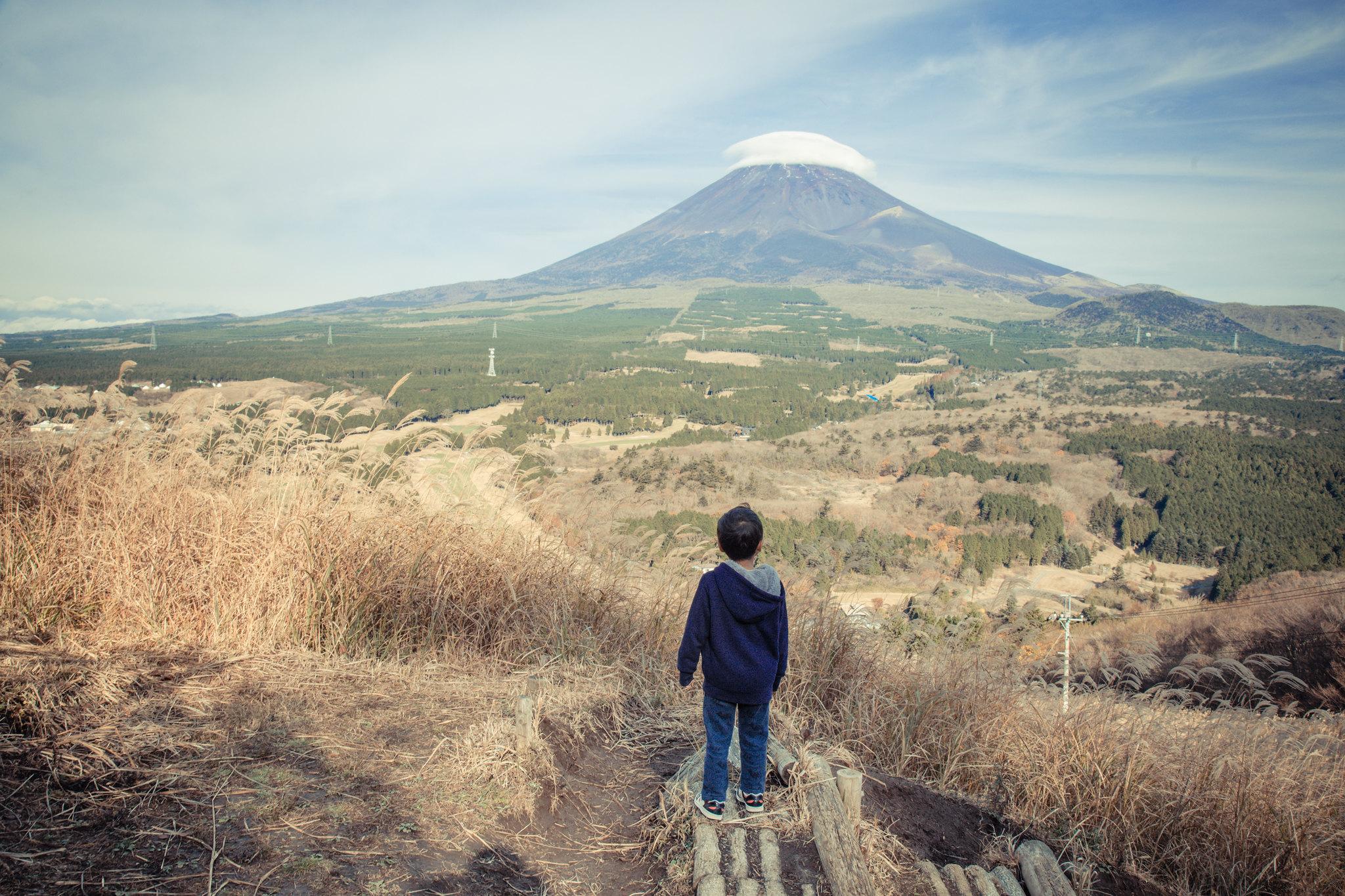 2015-11-17 富士山と子供 001