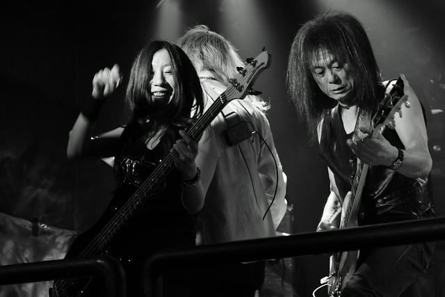 Bubble No.7 live at Outbreak, Tokyo, 14 Dec 2015. 372