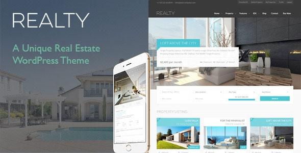 Realty v2.4.3 - Unique Real Estate WordPress Theme
