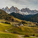 Val di Funes Sunset by xmibux
