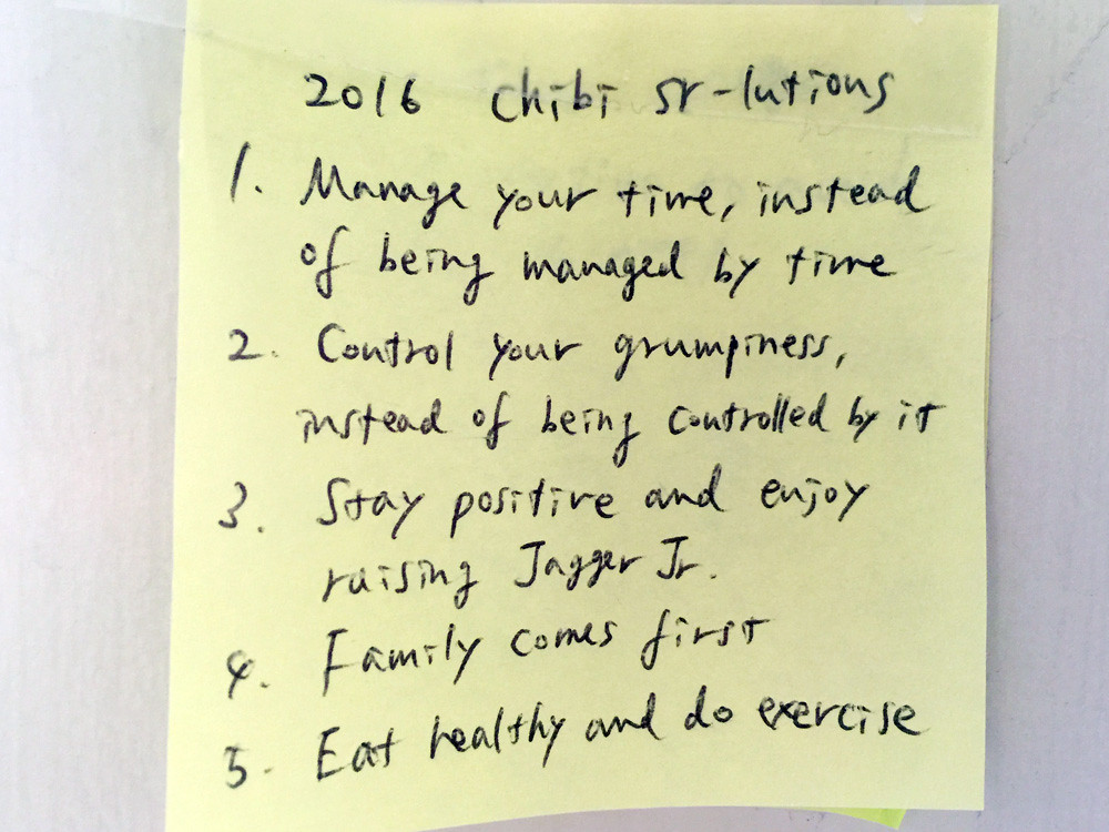 2016 New Year's resolution 1