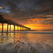 Scripps Pier Sunset by David Colombo Photography