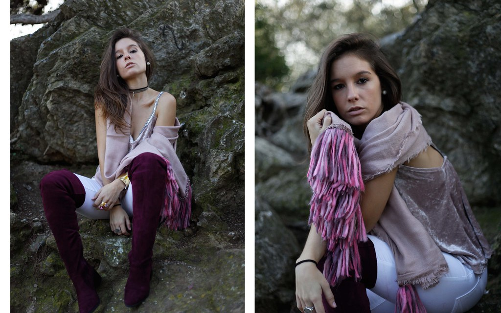 016_Burgundy_and_pink_outfit_autumn_fashion_blogger_theguestgirl_barcelona