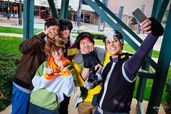 Lance, Keith, Pidge, Hunk & Shiro
