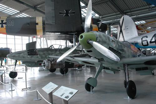 Messerschmitt Bf-109 E3 at the Deutsches Museum Flugwerft Schleißheim