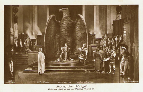 Victor Varconi, H.B. Warner and Rudolph Schildkraut in King of Kings (1927)