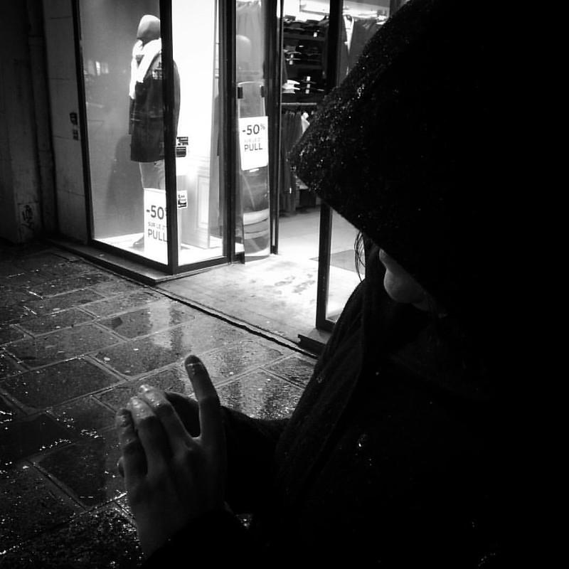 #Paris #rain