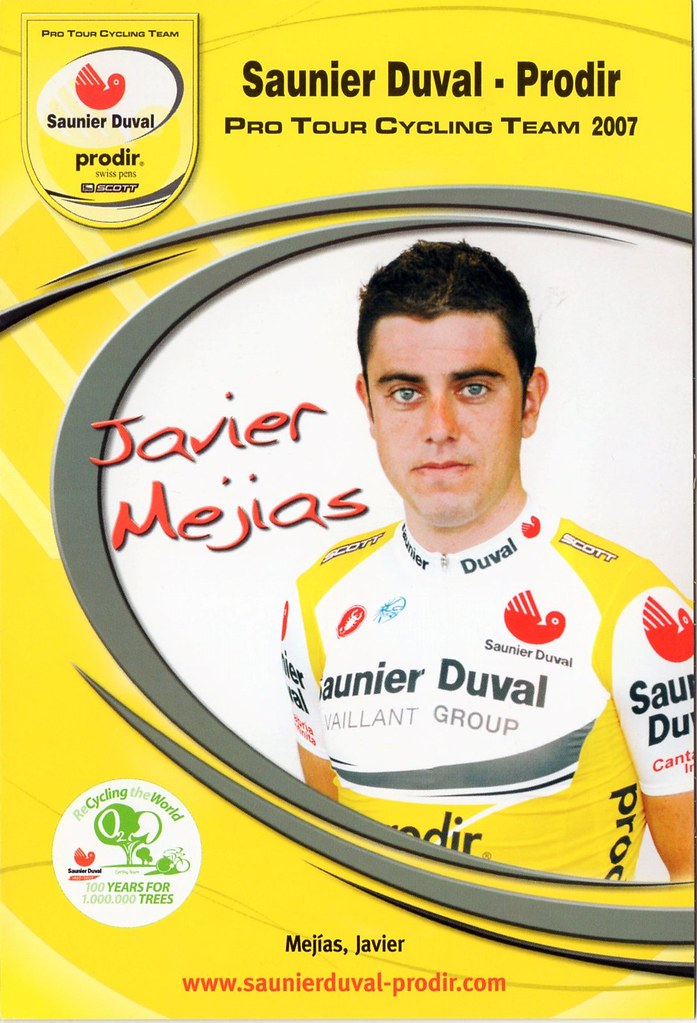 Javier Mejias - Saunier Duval Prodir 2007