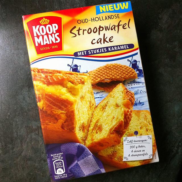 Stroopwafel Cake Mix