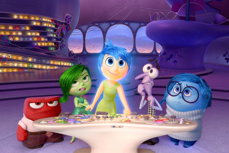 Inside Out Meet The Gang - Screenshot