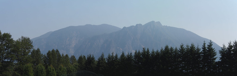Mountains from Snoqualmie