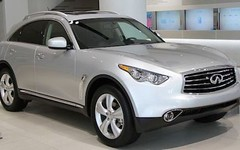 automobile, automotive exterior, sport utility vehicle, wheel, vehicle, automotive design, infiniti qx70, crossover suv, bumper, infiniti, land vehicle,