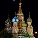 Shining Moon over St. Basil by federico_scalco