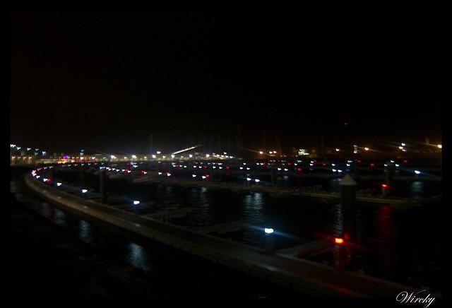 Paseo nocturno por Ponta Delgada - Embarcadero