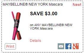 Hot Deals on Maybelline Mascara